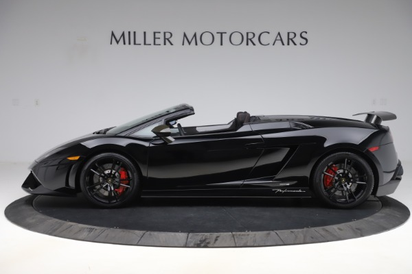Used 2013 Lamborghini Gallardo LP 570-4 Spyder Performante for sale $229,900 at Bugatti of Greenwich in Greenwich CT 06830 3