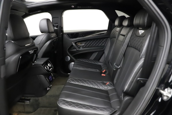 Used 2017 Bentley Bentayga W12 for sale $139,900 at Bugatti of Greenwich in Greenwich CT 06830 22