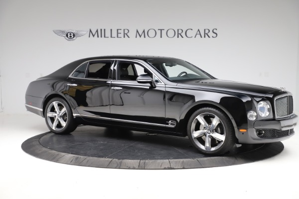 Used 2016 Bentley Mulsanne Speed for sale $159,900 at Bugatti of Greenwich in Greenwich CT 06830 9