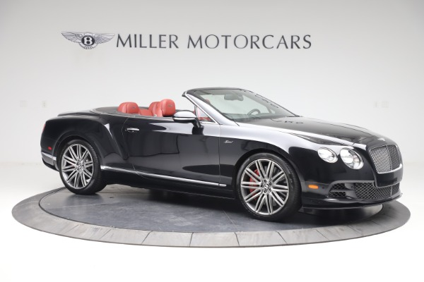 Used 2015 Bentley Continental GTC Speed for sale $129,900 at Bugatti of Greenwich in Greenwich CT 06830 11