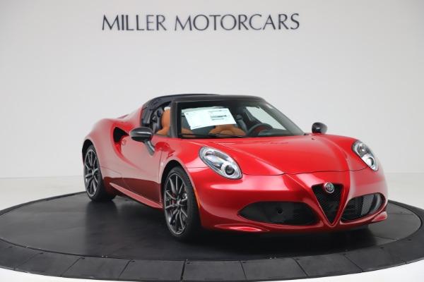New 2020 Alfa Romeo 4C Spider for sale $82,395 at Bugatti of Greenwich in Greenwich CT 06830 11