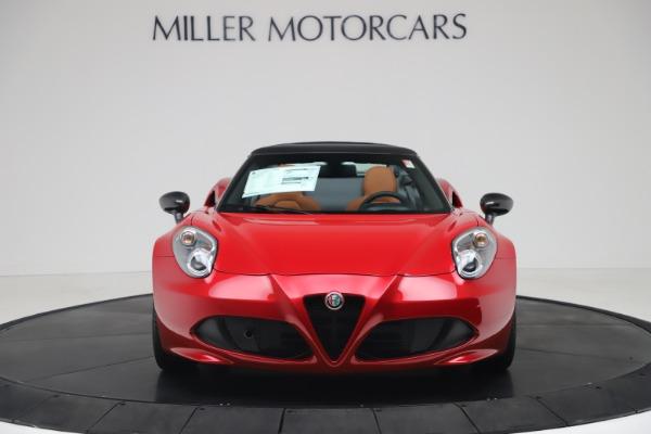 New 2020 Alfa Romeo 4C Spider for sale $82,395 at Bugatti of Greenwich in Greenwich CT 06830 12