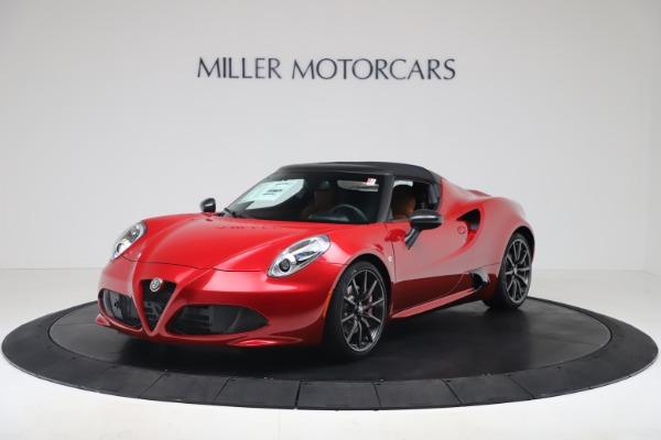 New 2020 Alfa Romeo 4C Spider for sale $82,395 at Bugatti of Greenwich in Greenwich CT 06830 13