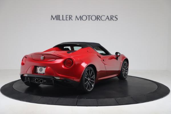 New 2020 Alfa Romeo 4C Spider for sale $82,395 at Bugatti of Greenwich in Greenwich CT 06830 16