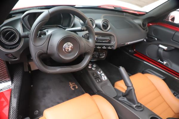 New 2020 Alfa Romeo 4C Spider for sale $82,395 at Bugatti of Greenwich in Greenwich CT 06830 19
