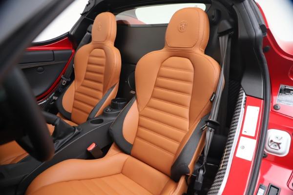 New 2020 Alfa Romeo 4C Spider for sale $82,395 at Bugatti of Greenwich in Greenwich CT 06830 21