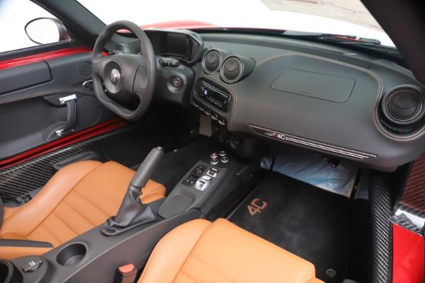 New 2020 Alfa Romeo 4C Spider for sale $82,395 at Bugatti of Greenwich in Greenwich CT 06830 23