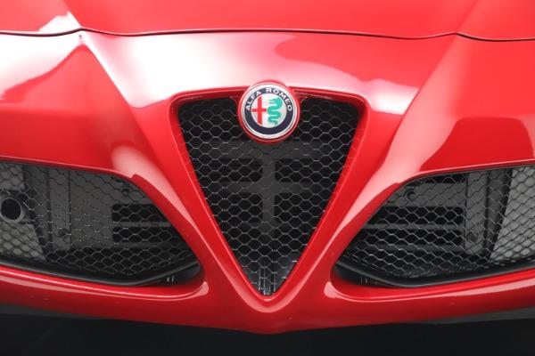 New 2020 Alfa Romeo 4C Spider for sale $82,395 at Bugatti of Greenwich in Greenwich CT 06830 27