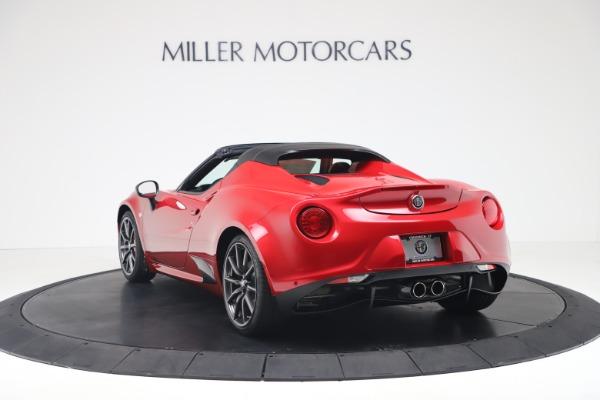 New 2020 Alfa Romeo 4C Spider for sale $82,395 at Bugatti of Greenwich in Greenwich CT 06830 5