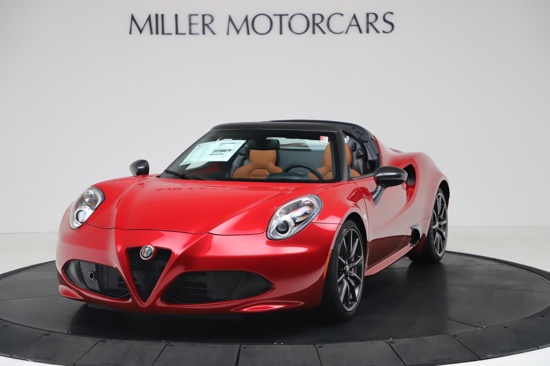 New 2020 Alfa Romeo 4C Spider for sale $82,395 at Bugatti of Greenwich in Greenwich CT 06830 1