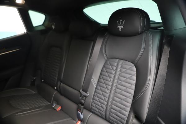 New 2020 Maserati Levante S Q4 GranSport for sale $106,585 at Bugatti of Greenwich in Greenwich CT 06830 18