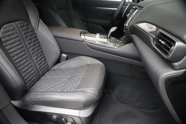 New 2020 Maserati Levante S Q4 GranSport for sale $106,585 at Bugatti of Greenwich in Greenwich CT 06830 24