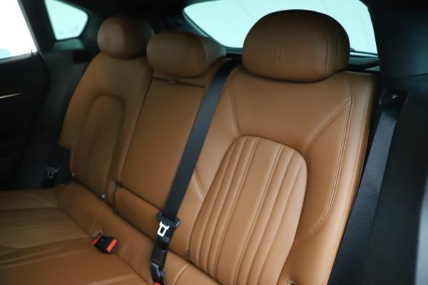 New 2020 Maserati Levante Q4 GranLusso for sale Sold at Bugatti of Greenwich in Greenwich CT 06830 18