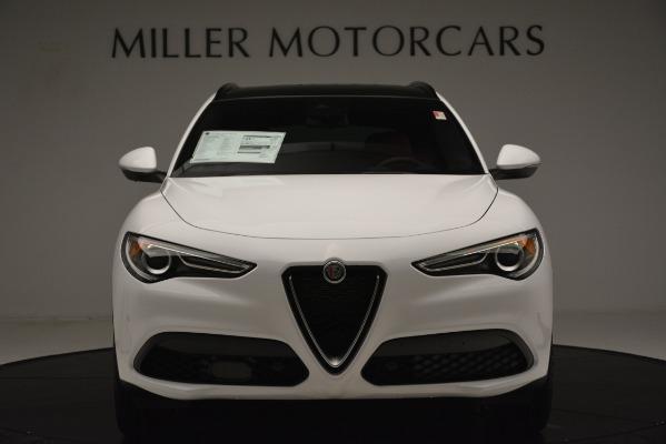 New 2019 Alfa Romeo Stelvio Ti Sport Q4 for sale $54,340 at Bugatti of Greenwich in Greenwich CT 06830 12
