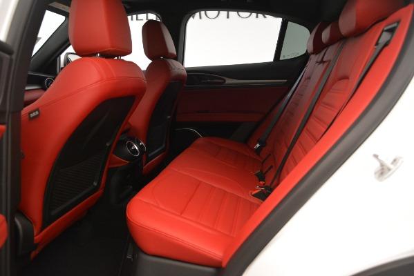New 2019 Alfa Romeo Stelvio Ti Sport Q4 for sale $54,340 at Bugatti of Greenwich in Greenwich CT 06830 19