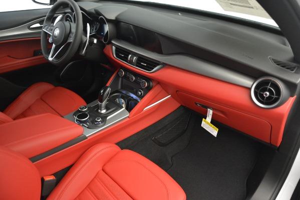 New 2019 Alfa Romeo Stelvio Ti Sport Q4 for sale $54,340 at Bugatti of Greenwich in Greenwich CT 06830 22