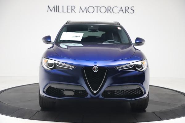 New 2019 Alfa Romeo Stelvio Ti Sport Q4 for sale $56,690 at Bugatti of Greenwich in Greenwich CT 06830 12