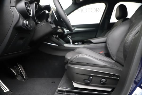 New 2019 Alfa Romeo Stelvio Ti Sport Q4 for sale $56,690 at Bugatti of Greenwich in Greenwich CT 06830 14