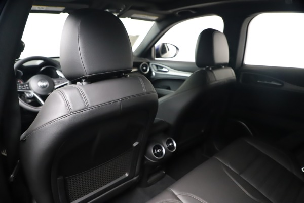 New 2019 Alfa Romeo Stelvio Ti Sport Q4 for sale $56,690 at Bugatti of Greenwich in Greenwich CT 06830 20