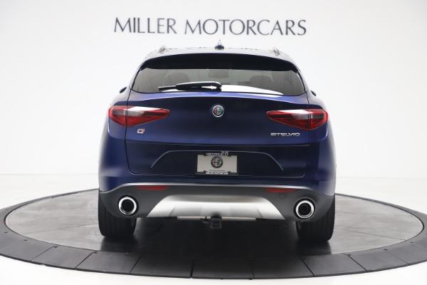 New 2019 Alfa Romeo Stelvio Ti Sport Q4 for sale $56,690 at Bugatti of Greenwich in Greenwich CT 06830 6