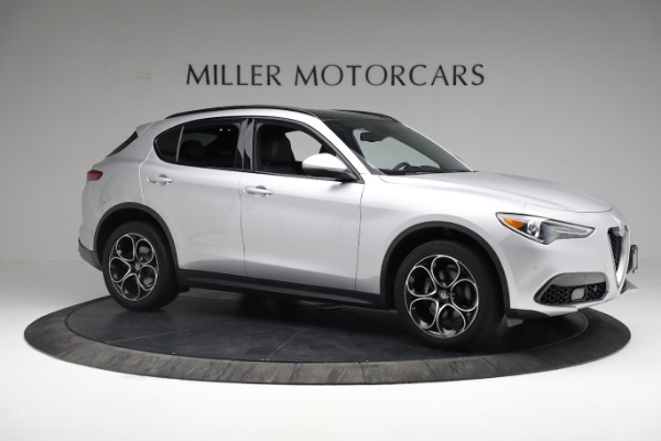 New 2019 Alfa Romeo Stelvio Ti Sport Q4 for sale $52,640 at Bugatti of Greenwich in Greenwich CT 06830 10