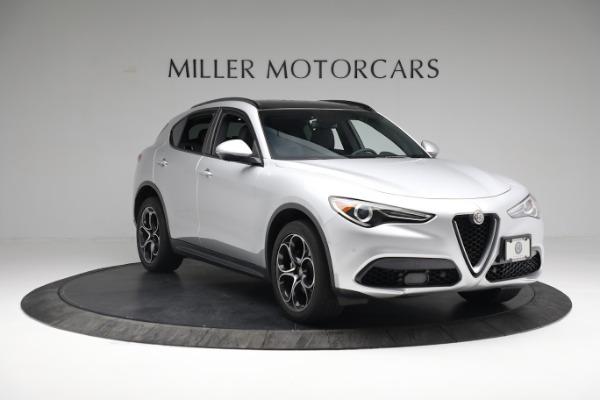 New 2019 Alfa Romeo Stelvio Ti Sport Q4 for sale $52,640 at Bugatti of Greenwich in Greenwich CT 06830 11
