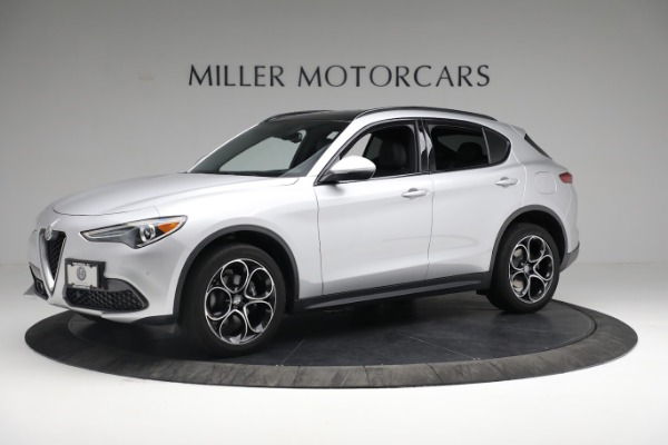 New 2019 Alfa Romeo Stelvio Ti Sport Q4 for sale $52,640 at Bugatti of Greenwich in Greenwich CT 06830 2