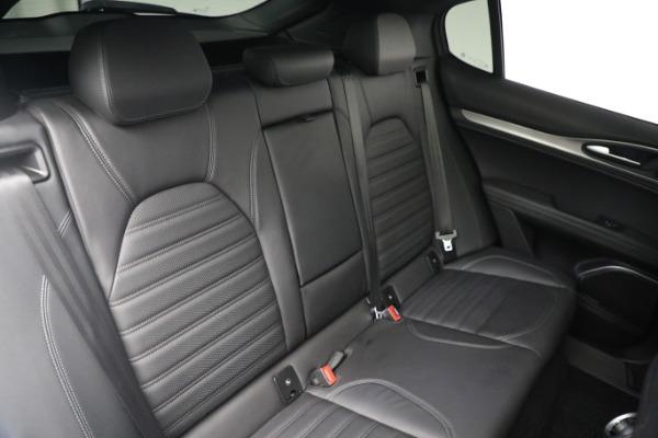 New 2019 Alfa Romeo Stelvio Ti Sport Q4 for sale Sold at Bugatti of Greenwich in Greenwich CT 06830 22