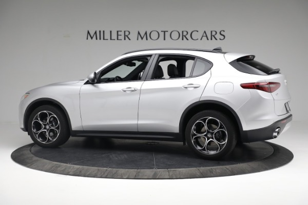 New 2019 Alfa Romeo Stelvio Ti Sport Q4 for sale $52,640 at Bugatti of Greenwich in Greenwich CT 06830 4