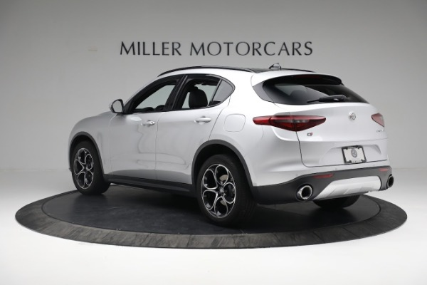 New 2019 Alfa Romeo Stelvio Ti Sport Q4 for sale $52,640 at Bugatti of Greenwich in Greenwich CT 06830 5