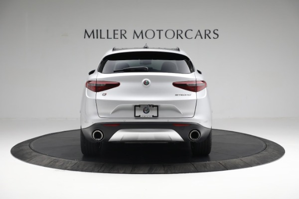 New 2019 Alfa Romeo Stelvio Ti Sport Q4 for sale $52,640 at Bugatti of Greenwich in Greenwich CT 06830 7