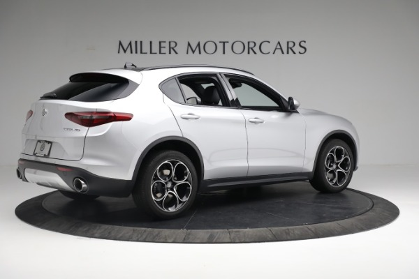 New 2019 Alfa Romeo Stelvio Ti Sport Q4 for sale $52,640 at Bugatti of Greenwich in Greenwich CT 06830 8