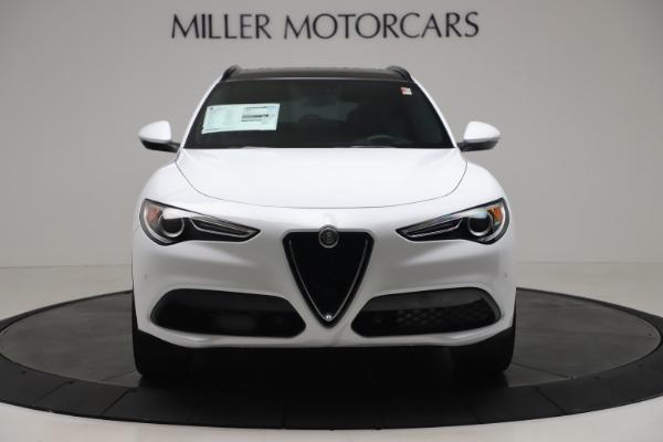New 2019 Alfa Romeo Stelvio Ti Sport Q4 for sale $52,140 at Bugatti of Greenwich in Greenwich CT 06830 12