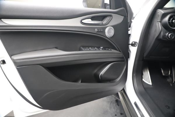 New 2019 Alfa Romeo Stelvio Ti Sport Q4 for sale $52,140 at Bugatti of Greenwich in Greenwich CT 06830 17