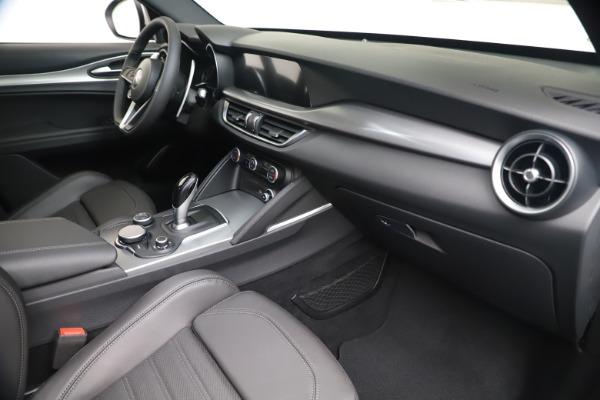 New 2019 Alfa Romeo Stelvio Ti Sport Q4 for sale $52,140 at Bugatti of Greenwich in Greenwich CT 06830 22