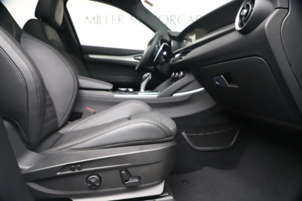 New 2019 Alfa Romeo Stelvio Ti Sport Q4 for sale $52,140 at Bugatti of Greenwich in Greenwich CT 06830 23