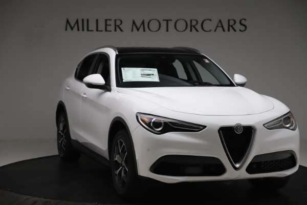 New 2019 Alfa Romeo Stelvio Ti Q4 for sale $51,490 at Bugatti of Greenwich in Greenwich CT 06830 11