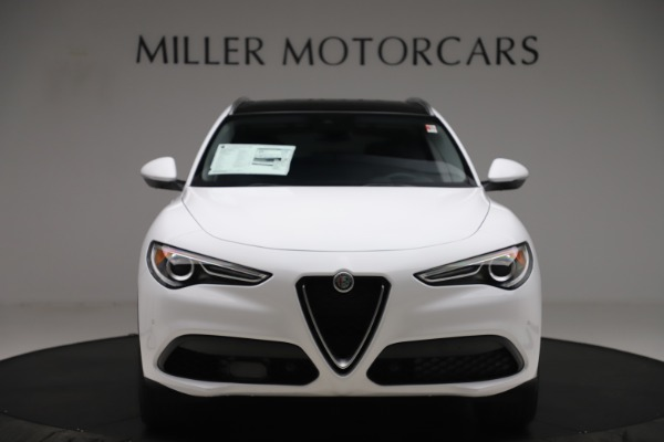 New 2019 Alfa Romeo Stelvio Ti Q4 for sale $51,490 at Bugatti of Greenwich in Greenwich CT 06830 12
