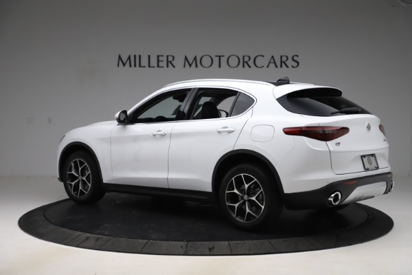 New 2019 Alfa Romeo Stelvio Ti Q4 for sale $51,490 at Bugatti of Greenwich in Greenwich CT 06830 4