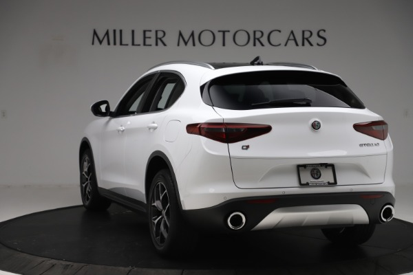 New 2019 Alfa Romeo Stelvio Ti Q4 for sale $51,490 at Bugatti of Greenwich in Greenwich CT 06830 5