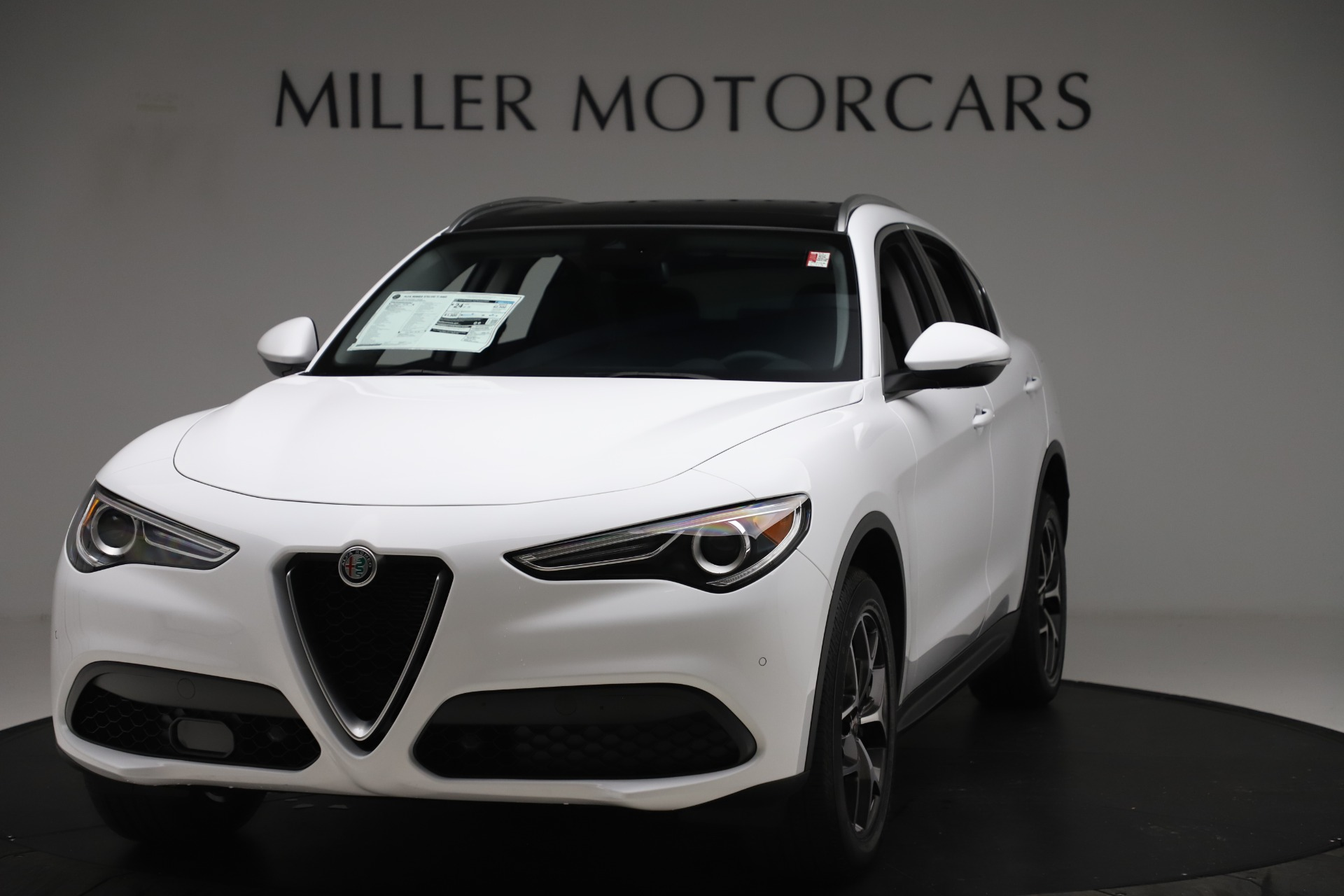 New 2019 Alfa Romeo Stelvio Ti Q4 for sale $51,490 at Bugatti of Greenwich in Greenwich CT 06830 1