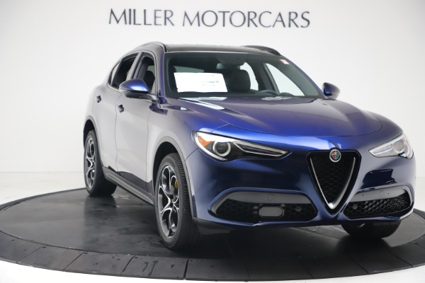 New 2019 Alfa Romeo Stelvio Ti Sport Q4 for sale $53,990 at Bugatti of Greenwich in Greenwich CT 06830 11