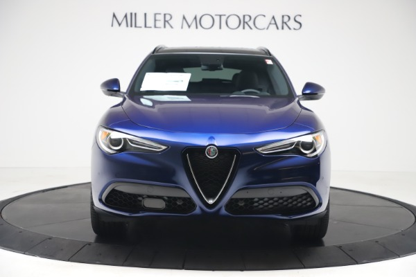 New 2019 Alfa Romeo Stelvio Ti Sport Q4 for sale $53,990 at Bugatti of Greenwich in Greenwich CT 06830 12