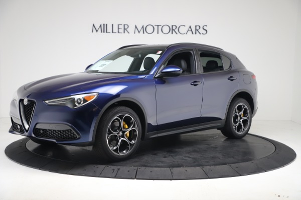 New 2019 Alfa Romeo Stelvio Ti Sport Q4 for sale $53,990 at Bugatti of Greenwich in Greenwich CT 06830 2