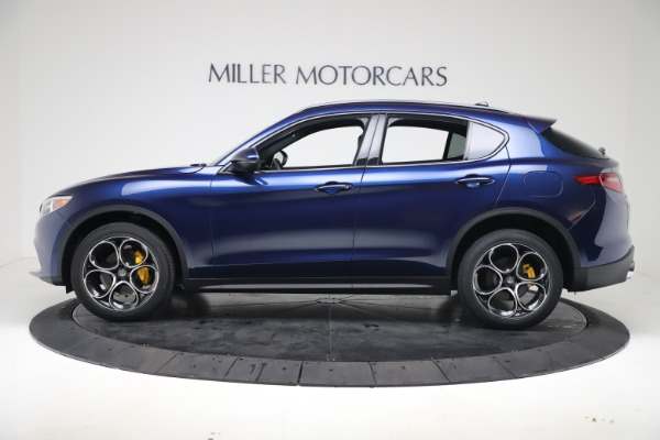 New 2019 Alfa Romeo Stelvio Ti Sport Q4 for sale $53,990 at Bugatti of Greenwich in Greenwich CT 06830 3