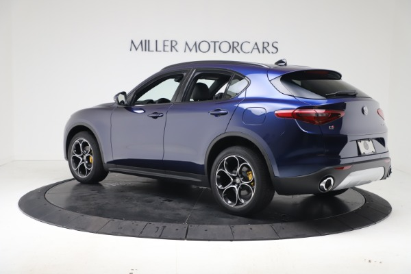 New 2019 Alfa Romeo Stelvio Ti Sport Q4 for sale $53,990 at Bugatti of Greenwich in Greenwich CT 06830 4