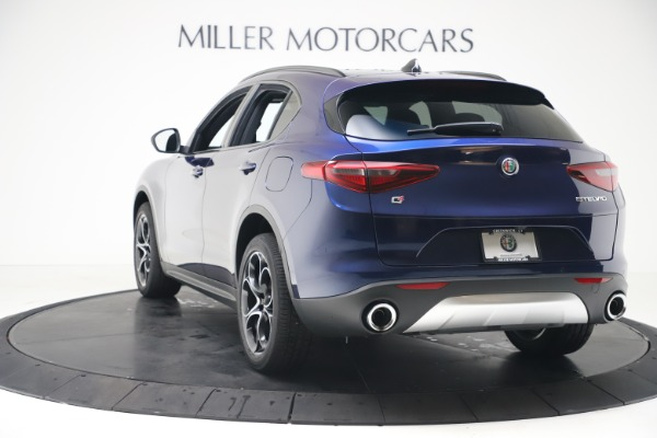 New 2019 Alfa Romeo Stelvio Ti Sport Q4 for sale $53,990 at Bugatti of Greenwich in Greenwich CT 06830 5