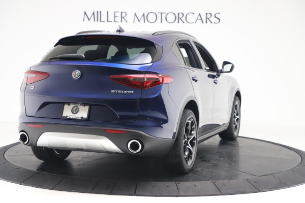 New 2019 Alfa Romeo Stelvio Ti Sport Q4 for sale $53,990 at Bugatti of Greenwich in Greenwich CT 06830 7