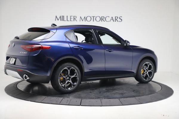 New 2019 Alfa Romeo Stelvio Ti Sport Q4 for sale $53,990 at Bugatti of Greenwich in Greenwich CT 06830 8