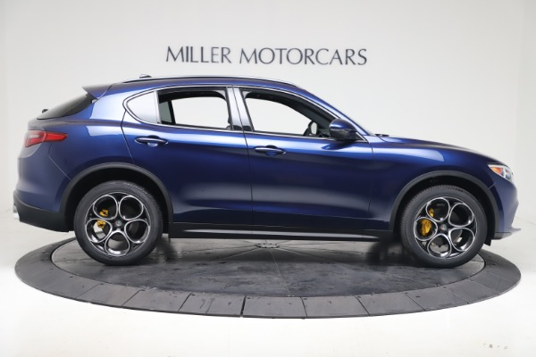 New 2019 Alfa Romeo Stelvio Ti Sport Q4 for sale $53,990 at Bugatti of Greenwich in Greenwich CT 06830 9